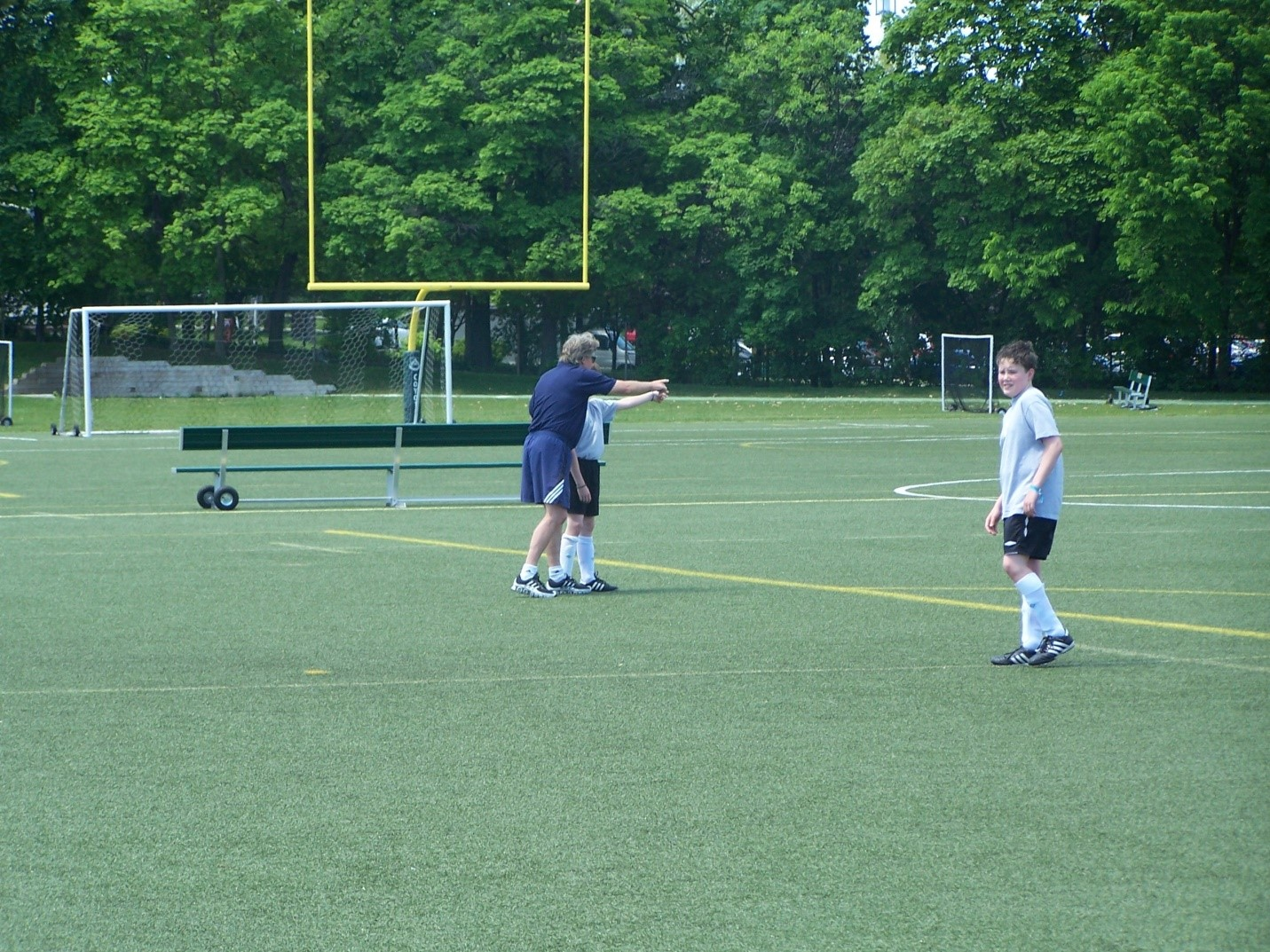 Soccer coaching tips -- off side & in-postion -- how to